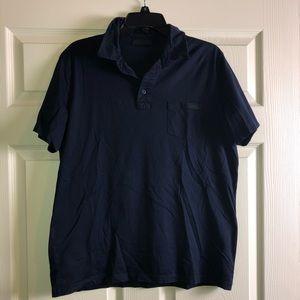 Navy Blue PRADA Polo